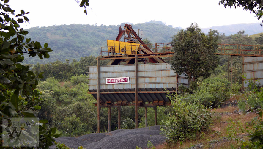 open cast mining sindhudurg stone crushing machinery Western Ghats Under Threat II: Open cast mining
