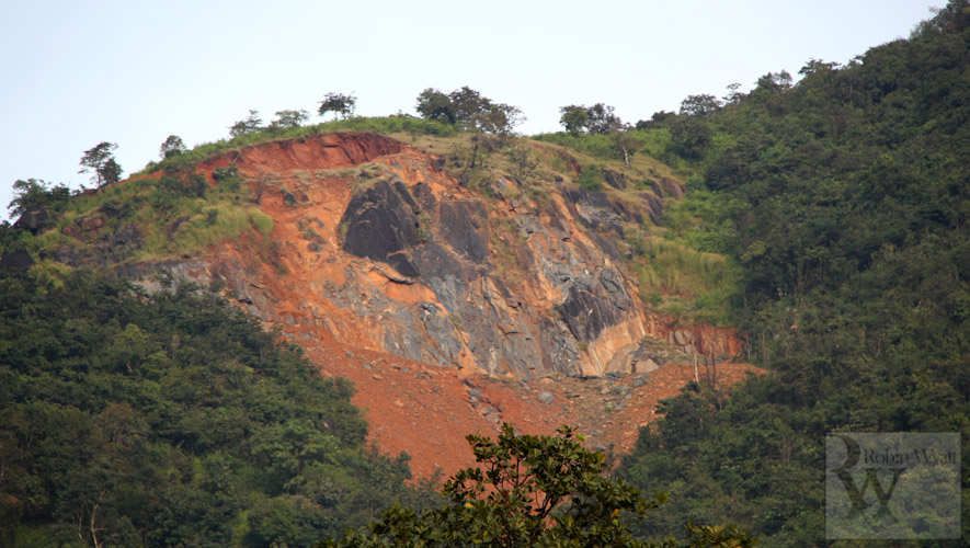 open cast mining sindhudurg stone crushing quarry 1 Western Ghats Under Threat II: Open cast mining