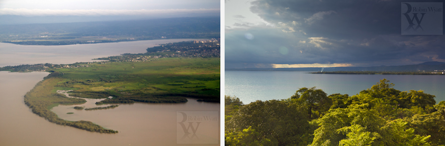 kenya nyanza kisumu development climate change photographer iied dfid idrc acts uhai flooding lake victoria aerial view storm 16260 16624 Climate Change in the Nyando Basin   The Problem (IIED)
